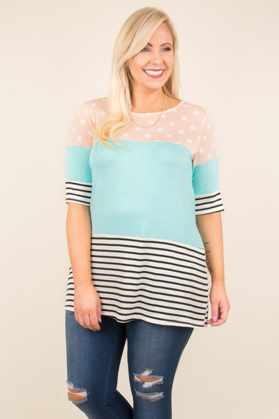 Mix And Mingle Tunic, Peach