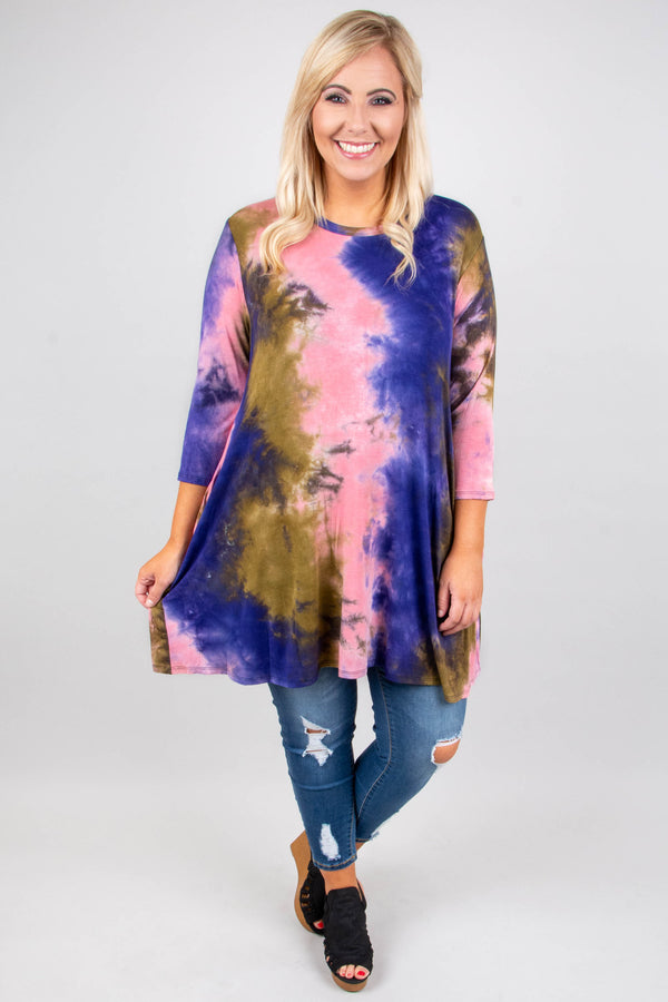 All The Thrills Tunic, Purple
