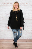 Closing Time Sweater, Black