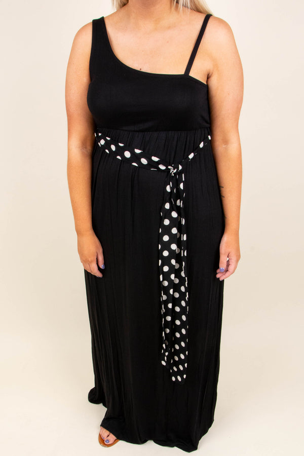 Make It Or Break It Maxi Dress, Black