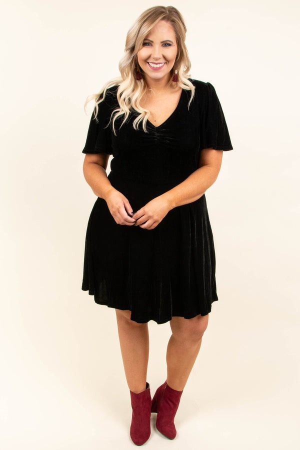 Here To Wow Dress, Black