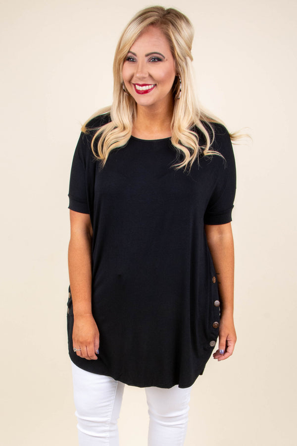 Forever Favorite Tunic, Black