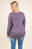 Charlotte's Web Top, Purple
