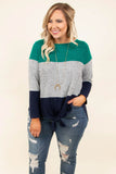 Crush Worthy Top, Heather Gray