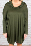 Fall Fashion Dress, Olive