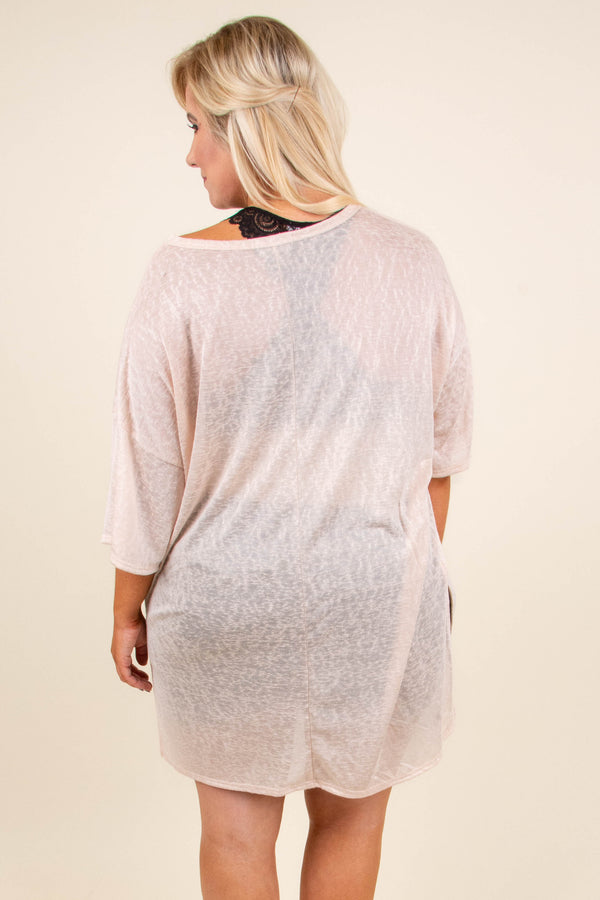 Casual Adventures Tunic, Latte
