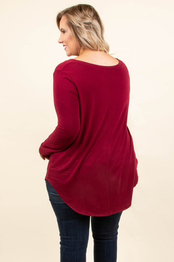 All Things Nice Top, Cabernet