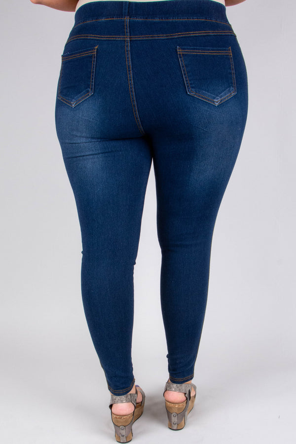 jeggings, blue, faded, distressed, ripped, skinny, long