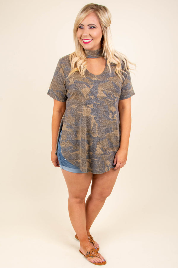 Drive All Night Top, Olive