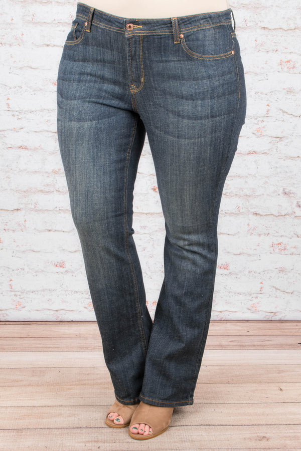 In Motion Jeans, Medium Wash