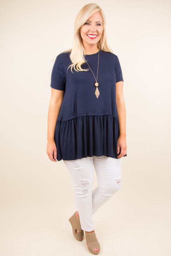 First Choice Tunic, Navy
