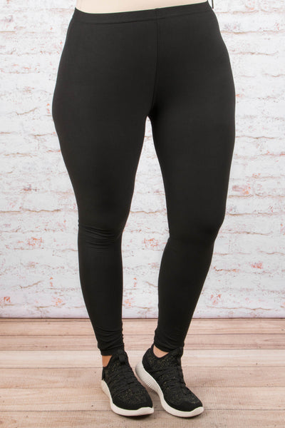 Just Walk Away Leggings, Black