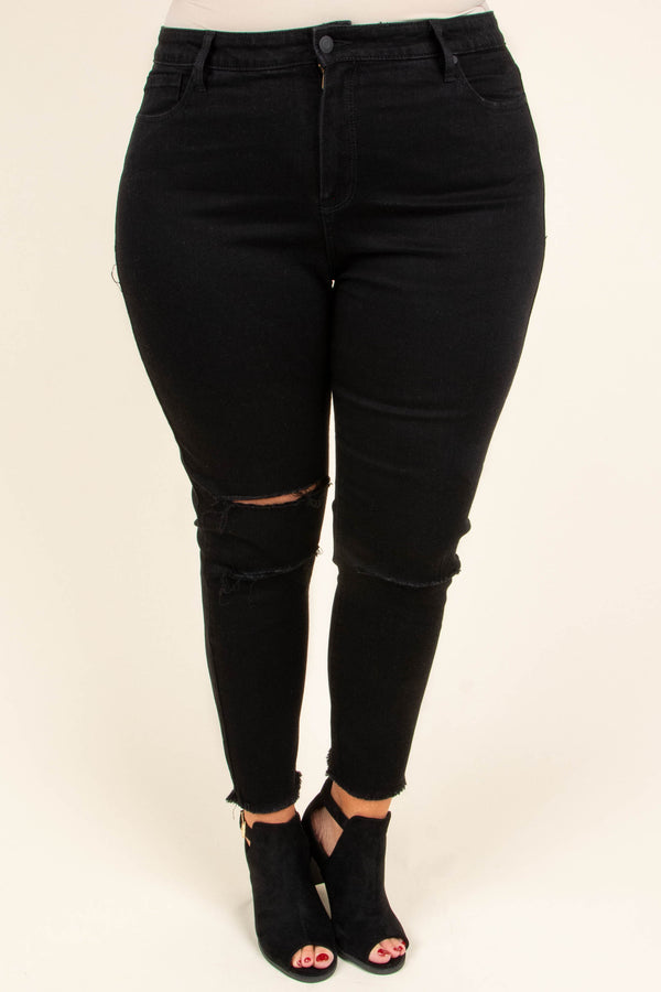 Surely The Best Skinny Jeans, Black