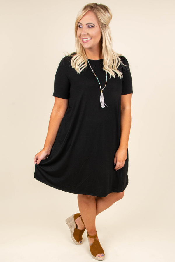 Best Bet Dress, Black