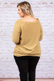 Strong Ties Sweater, Mustard
