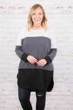 Chasing  Moonlight Tunic, Charcoal