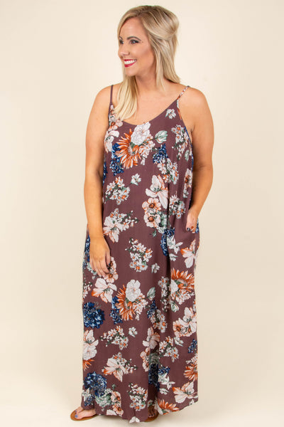 New Feelings Maxi Dress, Red