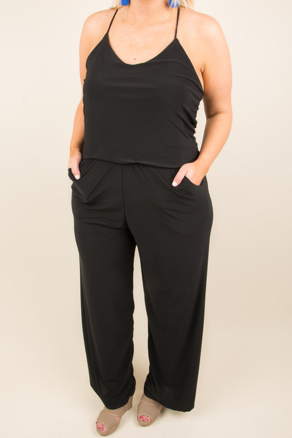 Easy As That Jumpsuit, Black