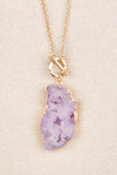 Beauty From Within Necklace, Periwinkle