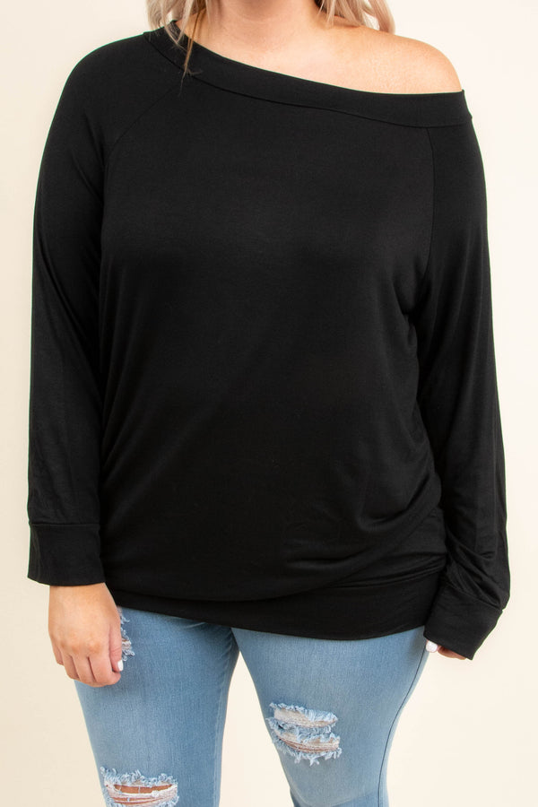 Tea And Honey Top, Black
