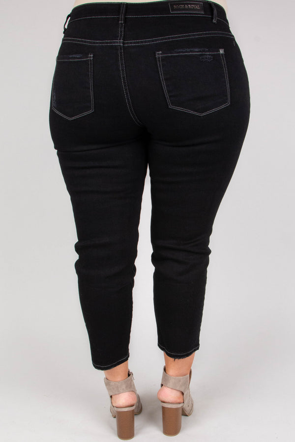 Casually Carefree Jeans, Black