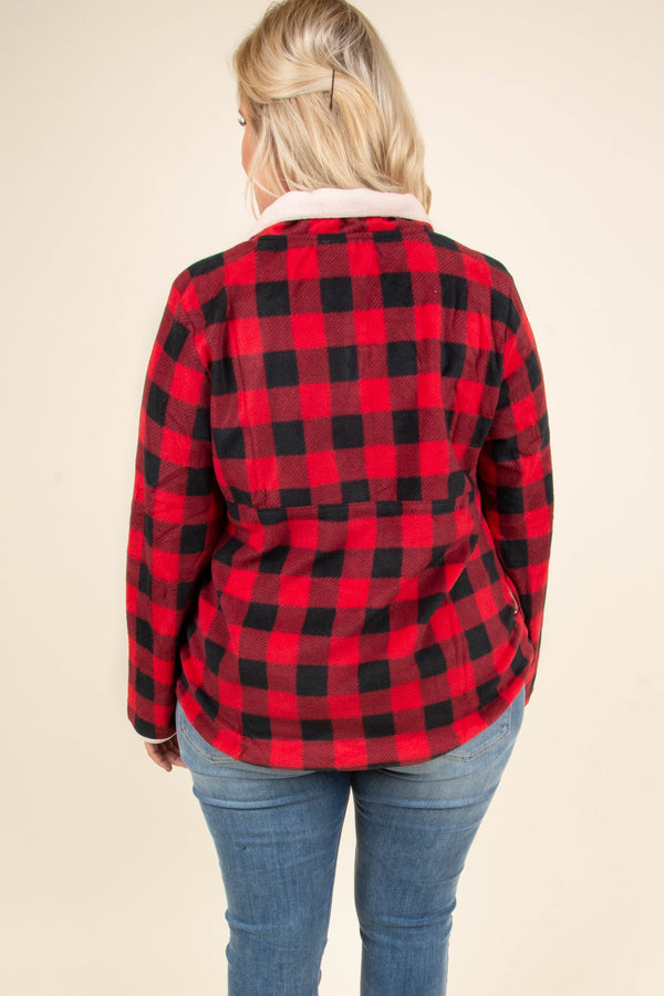 Bonfire Nights Pullover, Red