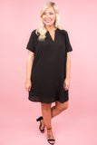 Classic Moments Dress, Black