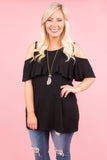 Storybook Ending Top, Black