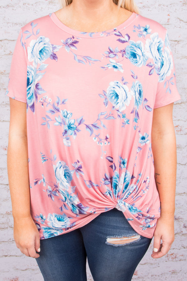 Hopelessly Endearing Top, Blush