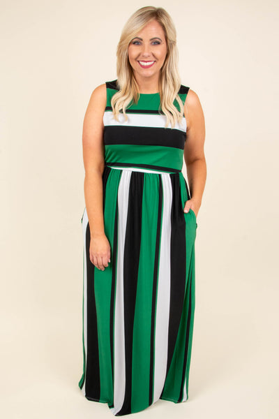 Set Your Sights Maxi Dress, Green