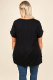 Comfy Travels Top, Black