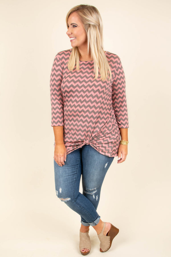 Never Boring Top, Coral