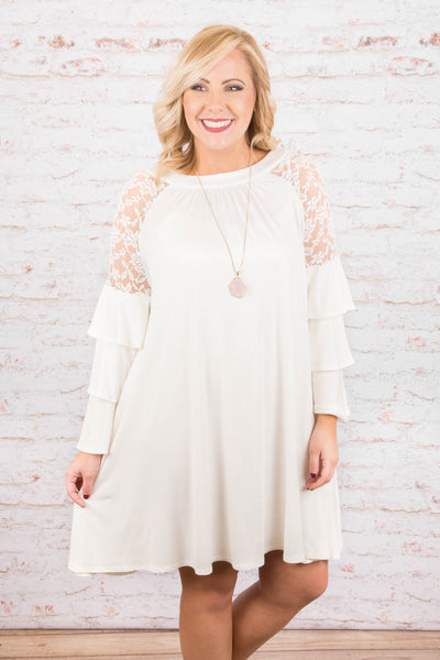 Sweet Talk Dress, Ivory