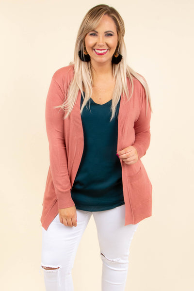 Reach For The Stars Cardigan, Rose