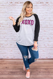 Hugs And Kisses Top, Black