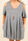 A Thousand Miles Dress, Heather Gray