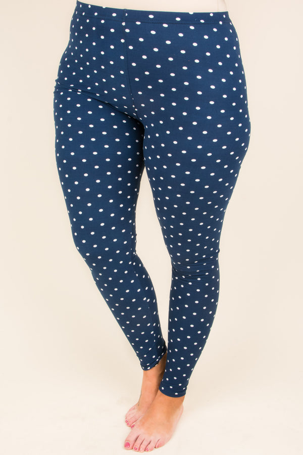 New Perspective Leggings, Navy