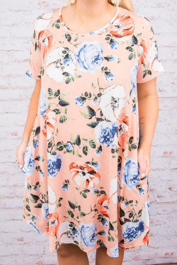 Dreamland Dress, Blush