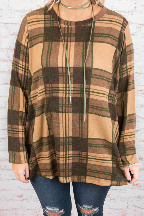 Count On It Tunic, Mocha