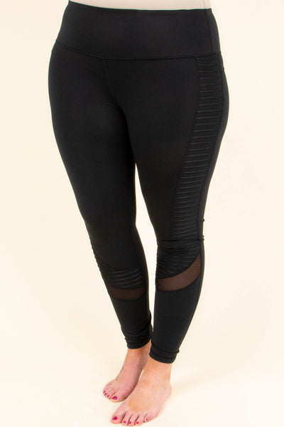 Radio Rocking Leggings, Black