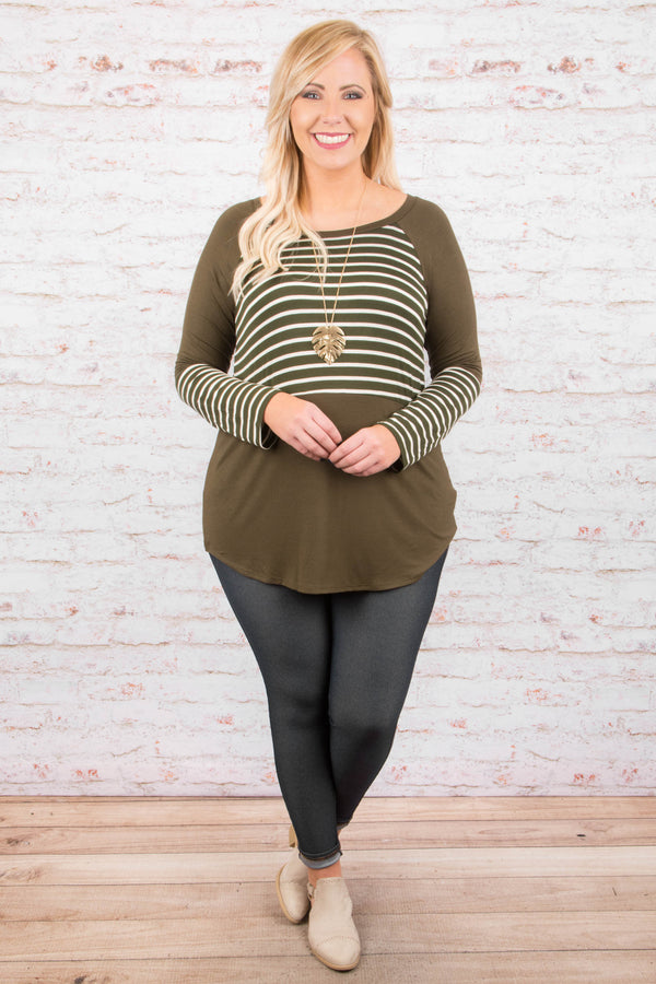All Day Fave Tunic, Olive