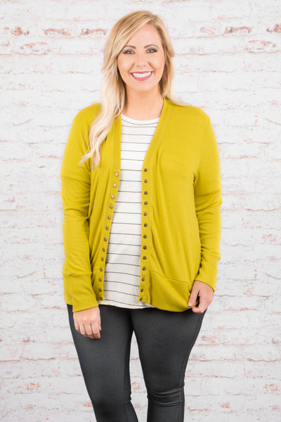 Nothing Compares Cardigan, Yellow