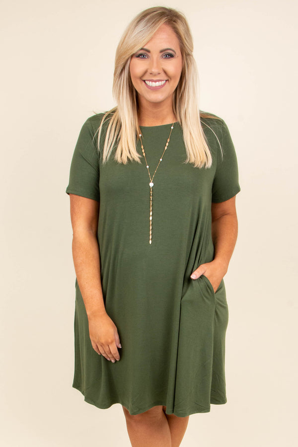 Best Bet Dress, Green