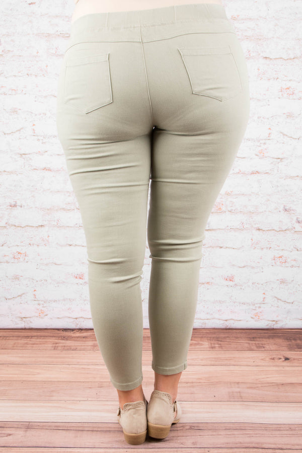 Tougher Than Most Jeggings, Mint