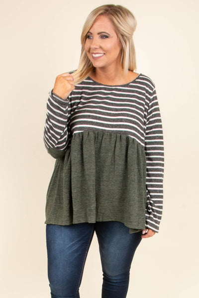 The Only Truth Top, Olive