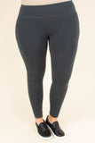 Basic Babe Leggings, Gray