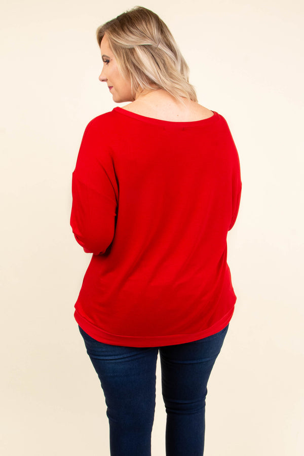 Addicted to Love Top, Red