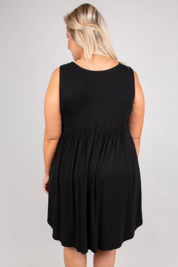 A Day Like Today Dress, Black
