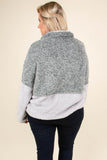 Cozy Weekend Pullover, Gray
