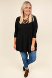 Good Heart Top, Black